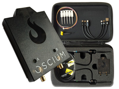 Oscium Announces iMSO-204x Mixed Signal Oscilloscope with Universal OS Support