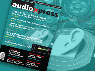 Focus on Test & Measurement and Download audioXpress March 2016 Now!