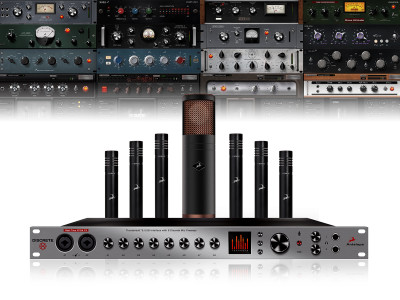 Antelope Audio Announces Discrete 8 Thunderbolt and USB Interface with Modeling Microphones