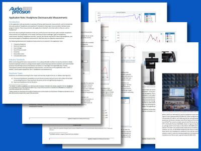 Fundamentals of Headphone Electroacoustic Measurements