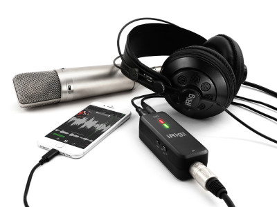 IK Multimedia Releases High Definition Digital Microphone Interface with Class A Preamp for iOS, Mac & PC