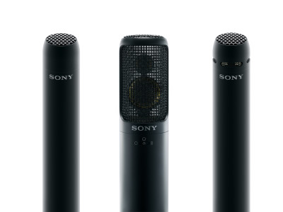 Sony Professional Unveils Three Hi-Resolution Microphones and 3rd generation DWX Wireless Series Now with Dante