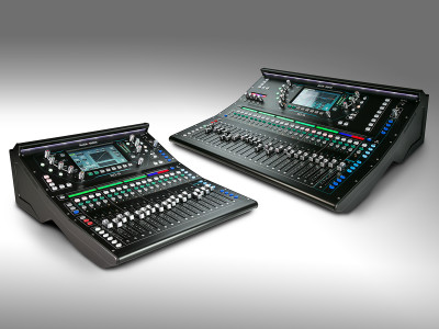 Allen & Heath Launches New 96kHz SQ Digital Mixer Series