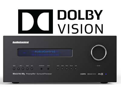AudioControl Adds Dolby Vision HDR Support to their Complete Lineup of Premium Home Theater Receivers and Preamp/Processors