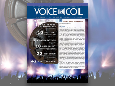Get the Scope on the Audio Industry with Voice Coil December 2017