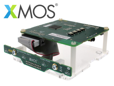 XMOS Extends Portfolio of Far-Field Voice Capture Solutions with  New xCORE VocalFusion Speaker Linear Evaluation Kit