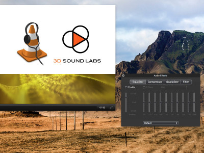 3D Sound Labs and VideoLAN Partner on 3D Audio for VLC Media Player
