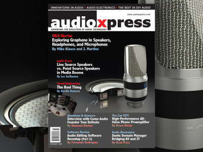 A Glimpse at The Past, Present and Future of Audio in audioXpress February 2018!