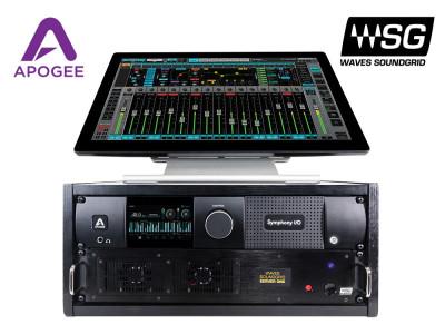 Apogee Symphony I/O Mk II Audio Interface Now Supports Waves SoundGrid Connectivity