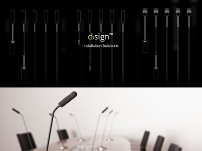 DPA Introduces d:sign Installation Solution Series Microphones