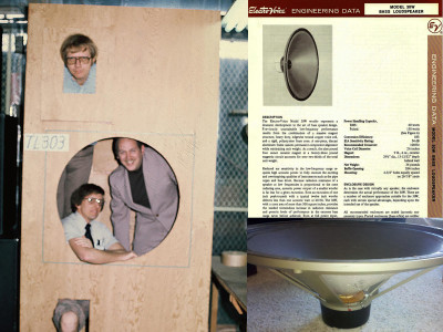 True Bass in a Large Space: A Pro DIY Subwoofer Project from 1975!