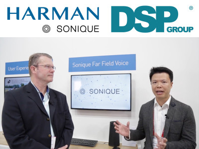 Harman Implements DSP Group's SmartVoice Technology for their Sonique Total Voice Solution