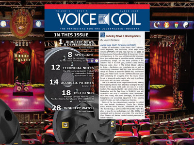Voice Coil March 2018 is Now Available!