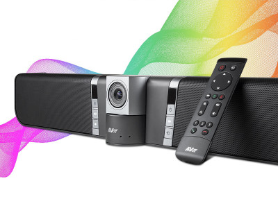 AVer Unveils New VB342 Soundbar for Enterprise Video Conferencing Applications