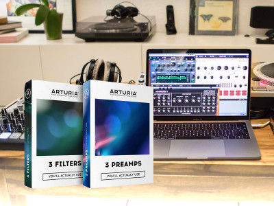 Arturia Releases Two New Software Packages Recreating Famous Vintage Studio Preamps and Synth Filters