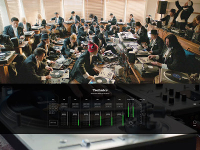Technics Organizes World's First Full Turntable Orchestra