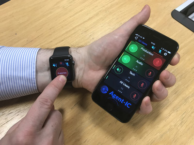 Clear-Com Introduces Agent-IC Intercom App with Support for Apple Watch