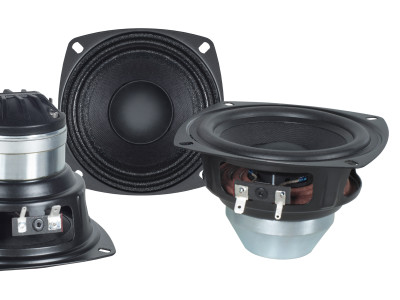 "B&C Expands 4"" Woofer Family with New 4NDS34 Driver"