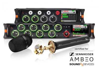Sound Devices Announces New AMBEO Spatial Audio Partnership with Sennheiser