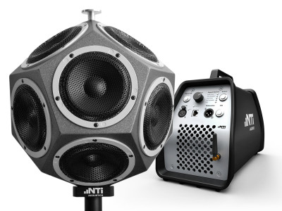 NTi Audio Introduces New Omnidirectional Sound Source and Amplifier