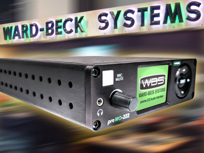 Ward-Beck Introduces New PreMo Series of Networked Microphone Preamps