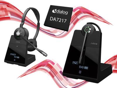 Dialog Semiconductor's SmartBeat SoC Enhances Jabra Engage Headset Series