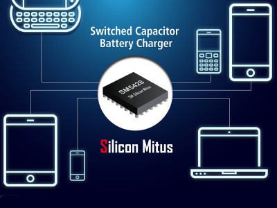 Silicon Mitus New High Efficiency Switched Capacitor for USB Type-C Fast Charging Applications
