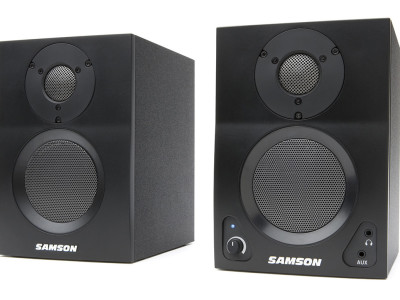New Active Studio Monitors with Bluetooth from Samson