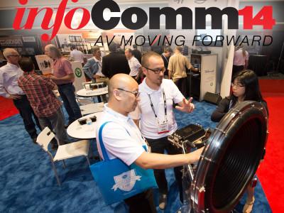 The World of AV moves forward at InfoComm 2014
