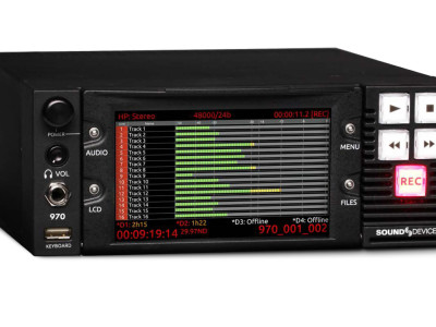 Sound Devices 64-track Dante and MADI audio recorder is shipping