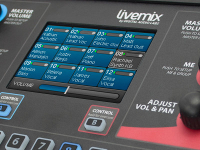 Livemix Personal Monitor System with Dante now shipping