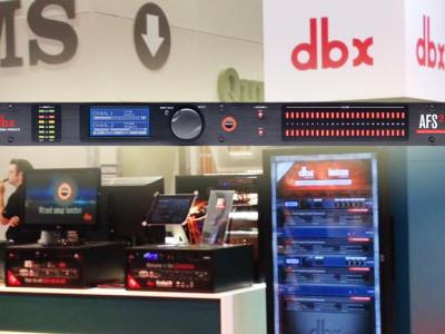 dbx Debuts its AFS2 Advanced Feedback Suppression Processor
