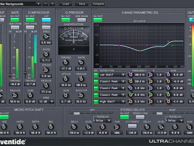 Eventide UltraChannel Native Channel Strip Free Download Until July 8, 2014