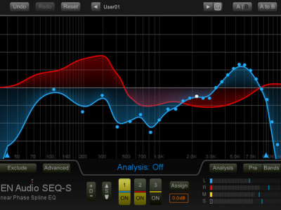 New SEQ-S Equalizer from Nugen Audio Takes Digital EQ to Another Level