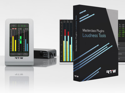 Audio metering and monitoring for all platforms from RTW