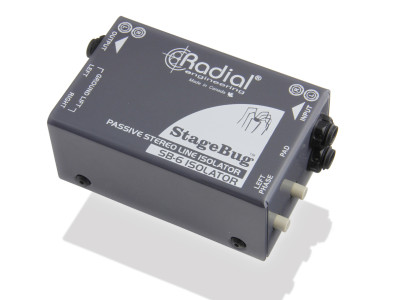 Radial StageBug SB-6 Compact Stereo Isolator Now Shipping