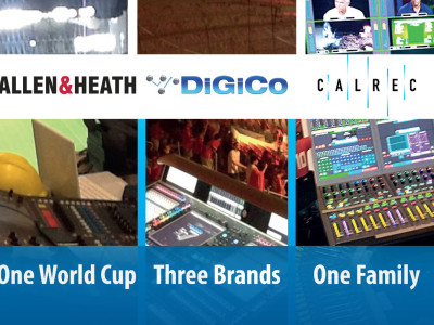 New Professional Audio Group Combines DiGiCo, Allen & Heath, and Calrec
