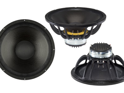 "B&C Speakers New 13.5"" Woofers and Coax Speakers Range"
