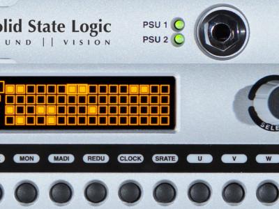 Solid State Logic updates MADI to Dante IP Audio Network interface