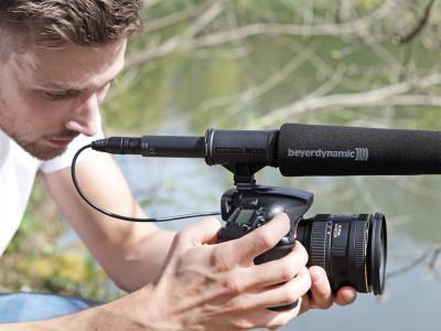 Beyerdynamic New MCE 85 Shotgun Microphone Premiering at the IFA Show in Berlin