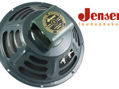 "Jensen P10R-F Offers the Tone of a Classic Broken-In 10"" Alnico Speaker"