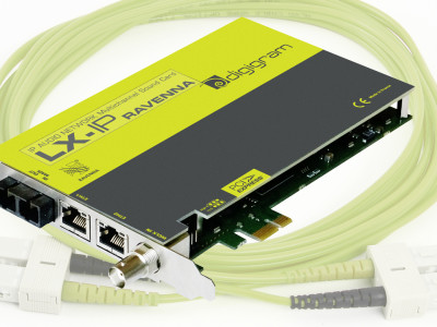 Digigram Introduces New High-Density LX-MADI PCIe Sound Card and New MADI Option on LX-IP RAVENNA PCIe Sound Card