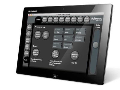 New 'AIR Control' Software Allows Advanced Calibration and Alignment of Dynaudio's AIR monitoring system