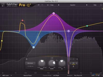 FabFilter Releases FabFilter Pro-Q 2 Equalizer Plug-In
