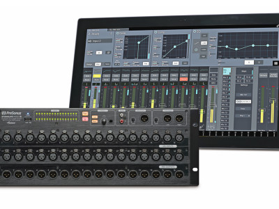 PreSonus Announces StudioLive RM-Series Rack-Mount Digital Mixers