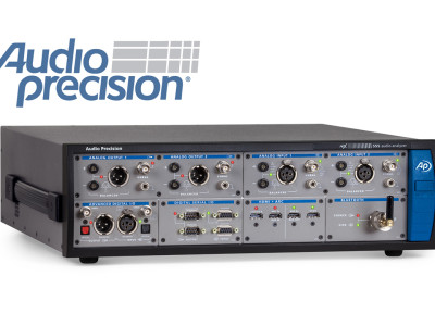 New Audio Precision APx555 Audio Analyser, Resets The Standard