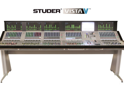 New Studer Vista V Introduced at IBC 2014
