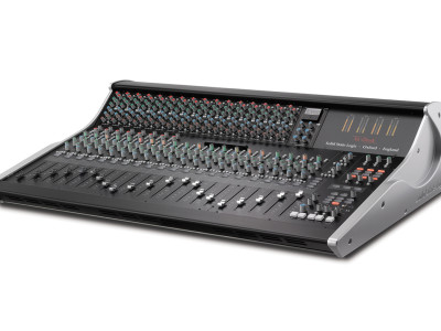 SSL XL-Desk, a modern twist on the classic 24:8 analogue studio console