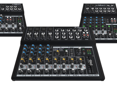 Mackie New Mix Series Are Ultra-Affordable Compact Mixers