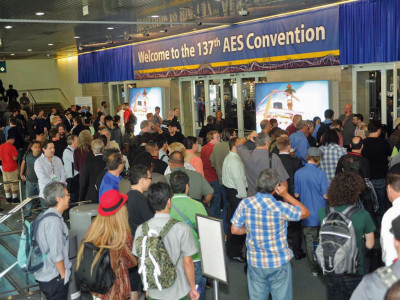 Industry Momentum at the 137th Audio Engineering Society Convention in Los Angeles